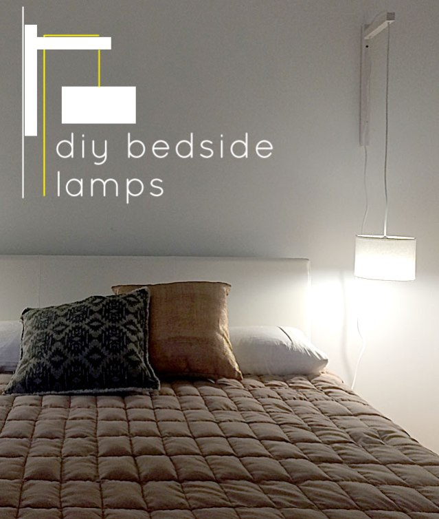 DIY Bedside Pendant Lamps By Eva Burgess
